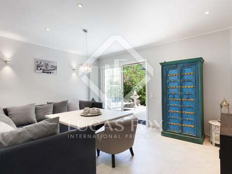 108m² apartment with 150m² garden for sale in Sitges Town