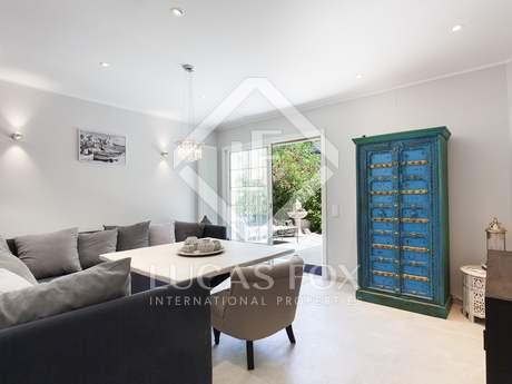 Appartement de 108m² a vendre à Sitges Town avec 150m² de jardin