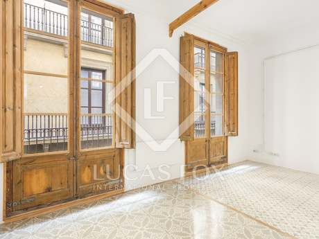 75 m² apartment for rent in the Gothic area of Barcelona