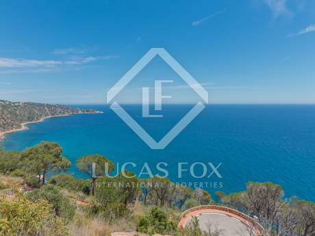 Exclusive building plot for sale on the Costa Brava
