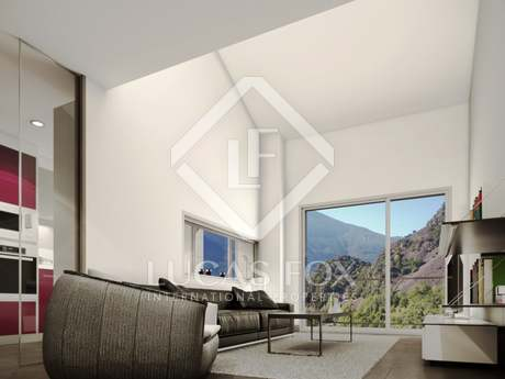 New luxury development with pool for sale in Andorra