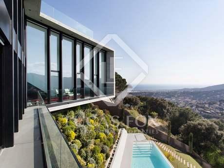 Designer villa for sale in Cabrils, Barcelona Maresme Coast