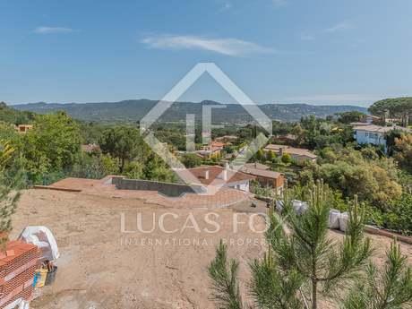 Building plot to buy in Santa Cristina hills, Costa Brava