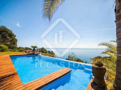 Luxury villa for sale in Blanes on the Costa Brava, Spain