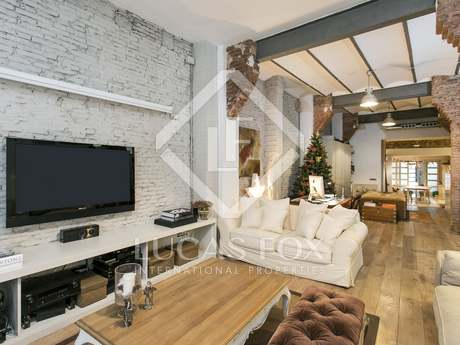 Modern ground floor apartment for sale in Gracia, Barcelona