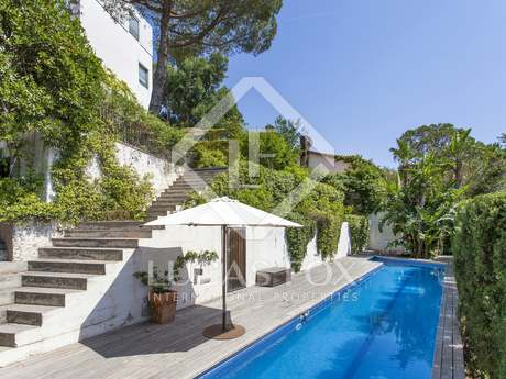 Magnificent 5-bedroom unfurnished house for rent in Sarrià
