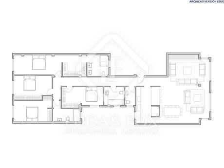 Appartement de 227m² a vendre à El Pla del Remei, Valence