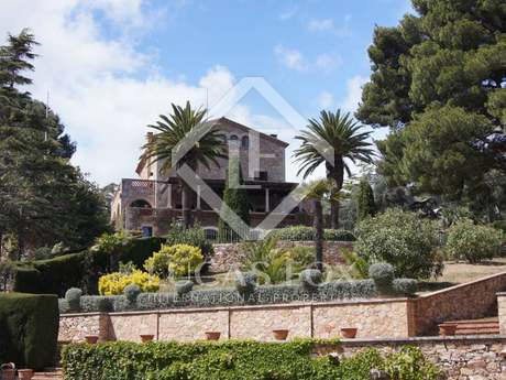 Luxury first line Costa Brava property for sale, Aiguablava