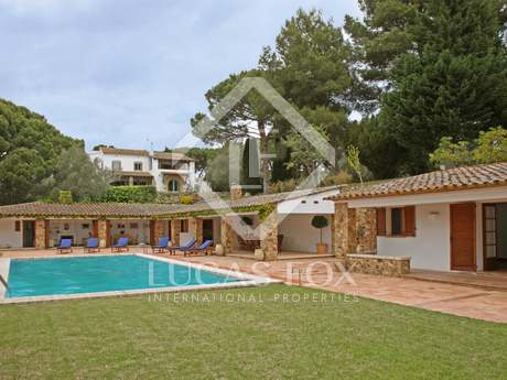 Exclusive luxury property to rent in Calella de Palafrugell