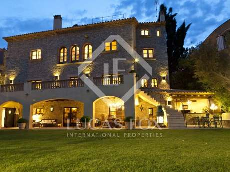 Luxury Costa Brava property for rent in Begur