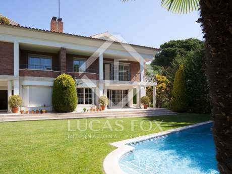 Luxury property for sale in Sant Cugat close to Barcelona