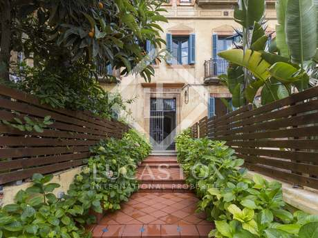 在 Sant Gervasi - La Bonanova, 巴塞罗那 180m² 出租 房子 包括 花园 73m²