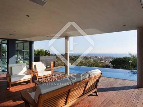 Stunning designer villa for sale in Premià de Dalt