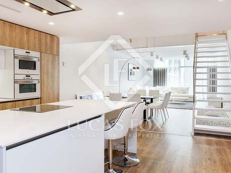 2-bedroom renovated apartment to rent on Paseo de Gracia