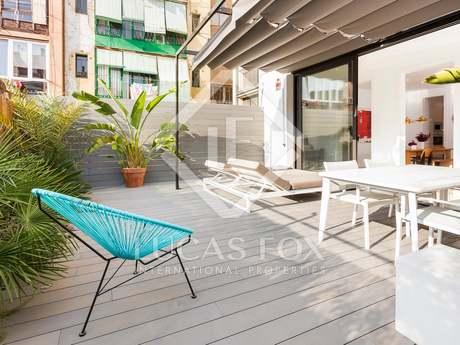 Apartamento con terraza en venta en calle Aribau