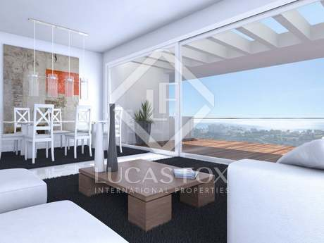 New 2-bedroom penthouse apartment for sale in Estepona