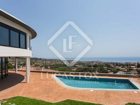 Luxury house for sale on Barcelona's Costa del Maresme