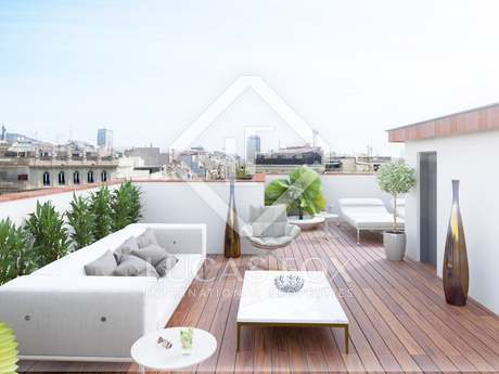 Duplex penthouse for sale in Eixample Left, Barcelona