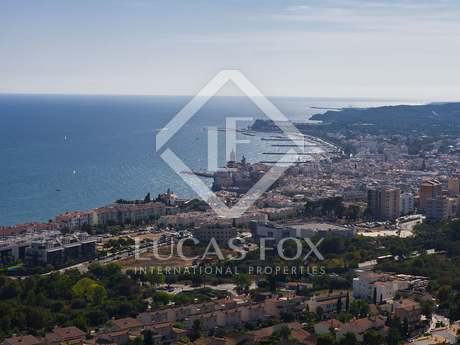2 adjacent building plots with sea views to buy in Sitges