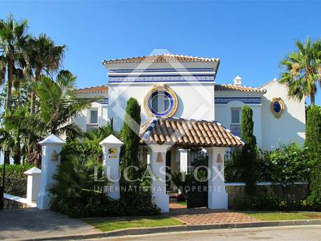 Villa de lujo en venta ubicada en Benahavís, Marbella.