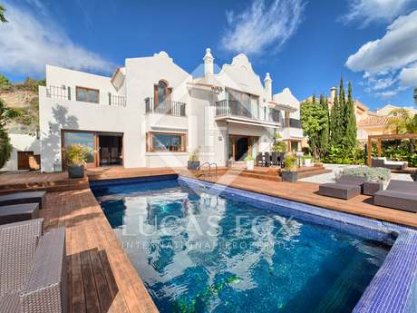 Villa en primera línea de un campo de golf en La Quinta