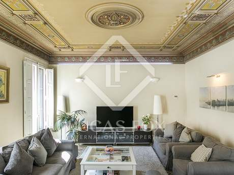 4-bedroom Modernista property for sale on Consell de Cent