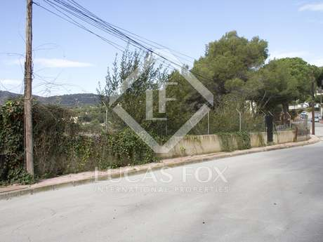 625m² building plot for sale in Cabrils on the Maresme Coast