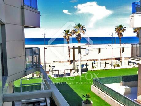Sea view apartment for sale in Playa Patacona