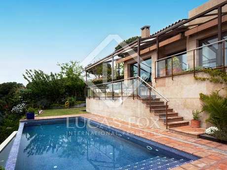 Designer house for sale in Cabrils, Maresme, Barcelona Coast