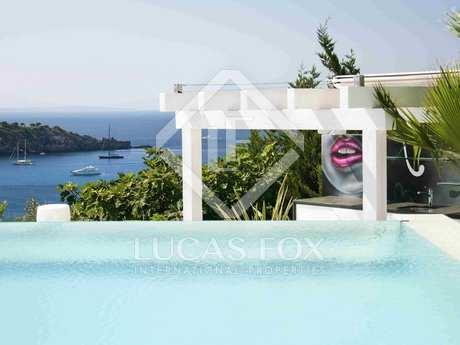 Moderna villa de diseño en alquiler en Vista Alegre, Ibiza.