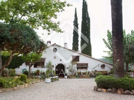 Hôtel-boutique en vente dans la région viticole du Penedès