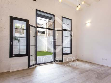 95m² apartment with 38m² garden for sale in Poblenou