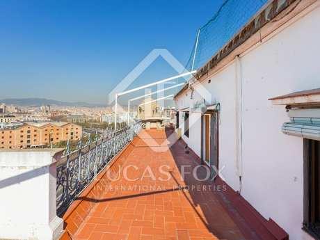 45m² Dachwohnung zur Miete in Barceloneta, Barcelona