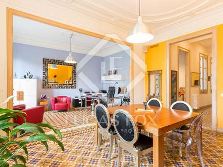 Renovated period property for sale on Gran Via, Barcelona
