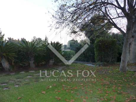 2,770m² plot for sale with views of the Santa Barbara urbanisation in Rocafort