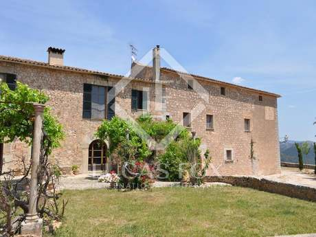17th century country estate for sale in Esporlas near Palma
