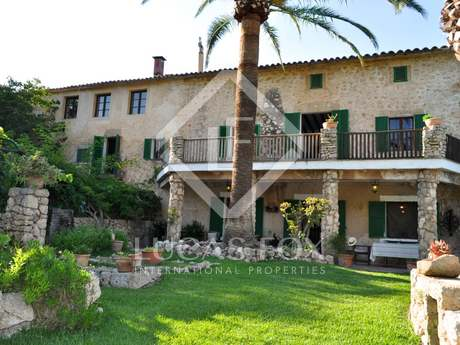 Country property for sale in North Mallorca near Campanet