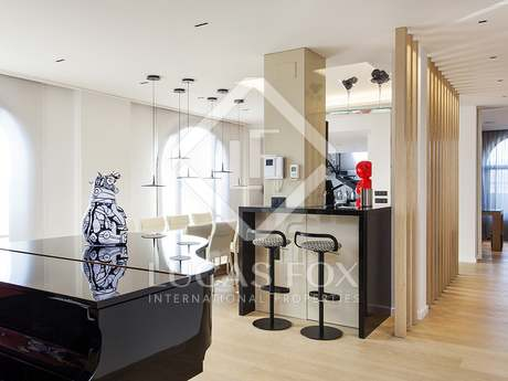 Magnificent penthouse for sale on Plaza Cataluña