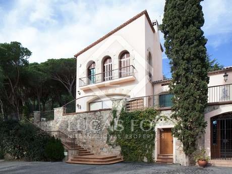 Luxury villa to buy Cabrera de Mar, Barcelona, Maresme coast