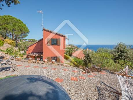 Villa with open sea views for sale in Sa Riera, Begur