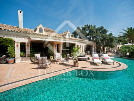Spectacular luxury villa for sale in La Zagaleta