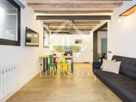 70m² ground floor apartment for sale in Gracia, Barcelona