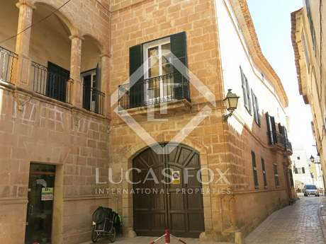 18th century palace for sale in Ciutadella, Menorca