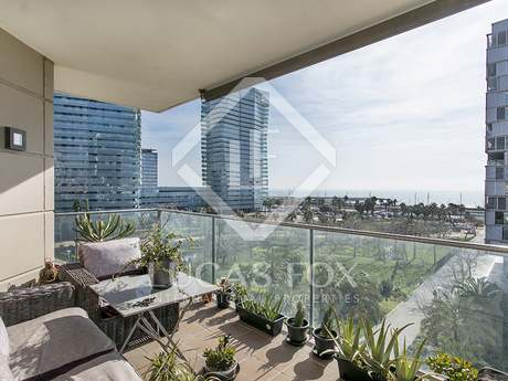 136m² apartment with 23m² terrace for sale in Diagonal Mar