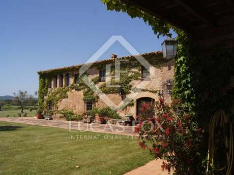 Girona country house to rent in the Baix Emporda