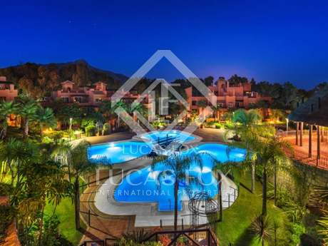 Luxury 3-bedroom penthouses for sale, Golf Valley, Marbella