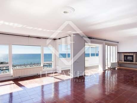 Appartement de 140m² a vendre à Sitges Town avec 10m² terrasse