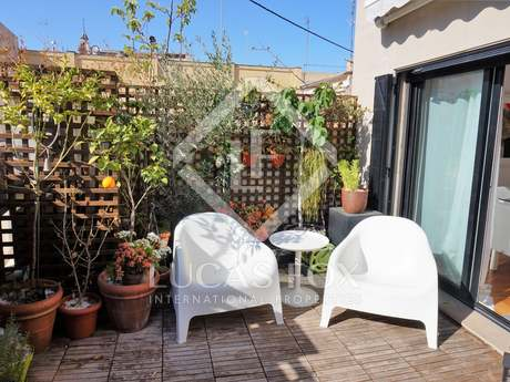 100m² apartment with 20m² terrace for rent in La Xerea