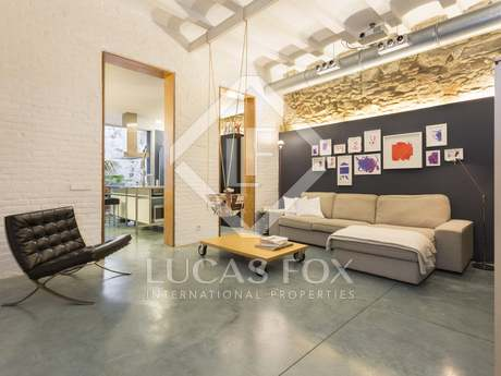 116m² apartment with 15m² terrace for sale in Poble Sec