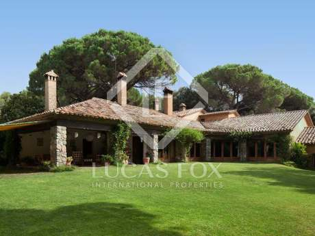 Exclusive country estate for sale just 35km from Barcelona